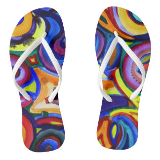 Rainbow Kicks Thongs