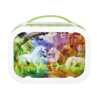 Rainbow Kingdom Unicorns Lunch Box