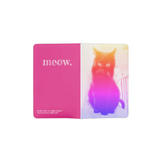 Rainbow Kitty Meow MOLESKINE® Notebook Cover