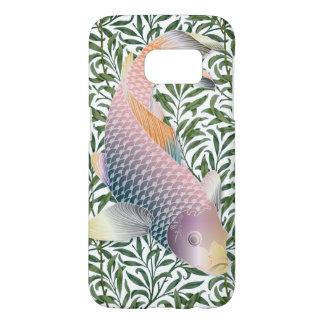 Rainbow Koi Fish & Green Water Plants #2