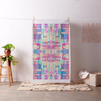 Rainbow Lace Tie-Dye Fabric