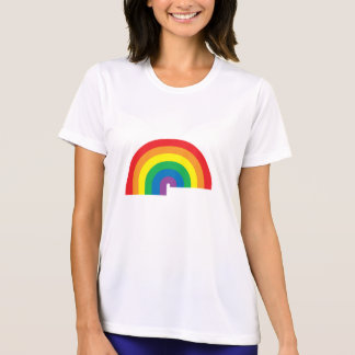 Rainbow Ladies Performance Micro-Fiber T-Shirt