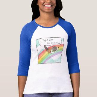 Rainbow Lady Baseball Tee