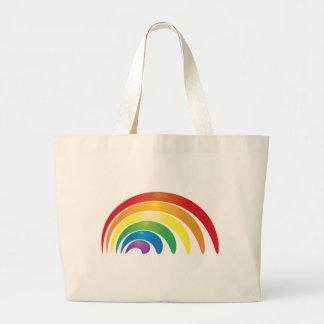 Rainbow Large Tote Bag