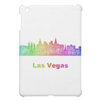 Rainbow Las Vegas skyline iPad Mini Case