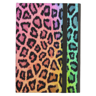 rainbow leopard powis ipad case