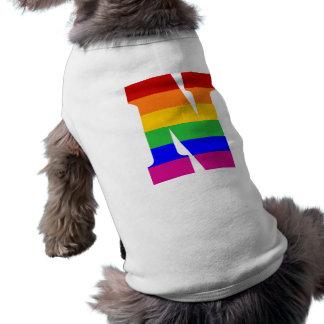 Rainbow Letter N Shirt