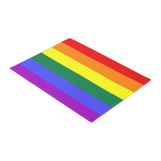Rainbow LGBT Gay Pride Doormat