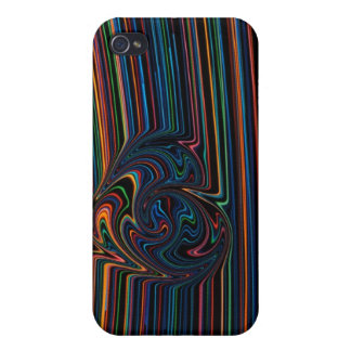 rainbow light love skin cover for iPhone 4