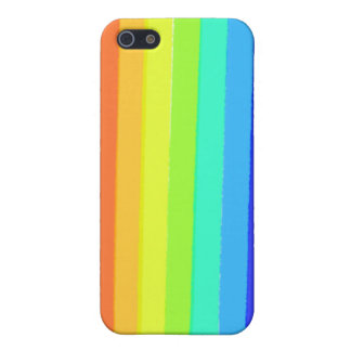 rainbow line pattern iphone5 matte case case for the iPhone 5