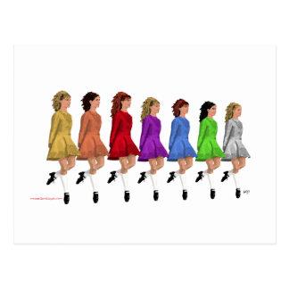 Rainbow Line Postcard