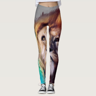 Rainbow Lion leggings