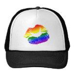 Rainbow Lips 1 Hat