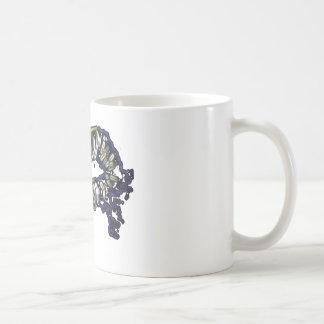 Rainbow lips design coffee mug