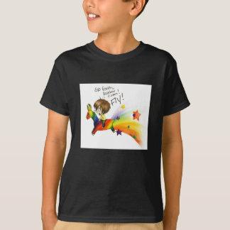 Rainbow Llama T-Shirt
