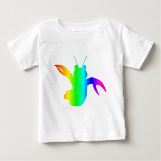 Rainbow Lobster #2 Baby T-Shirt