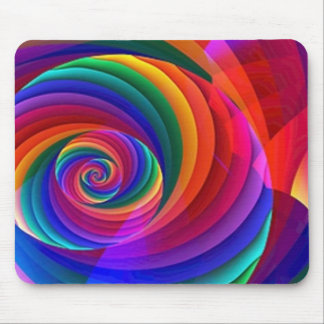 Rainbow Lolly Pops Mouse Pad