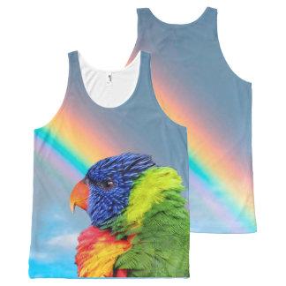 Rainbow Lorikeet All-Over Print Singlet
