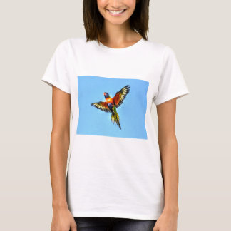 RAINBOW LORIKEET AUSTRALIA ART EFFECTS T-Shirt