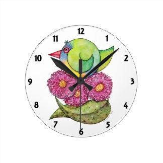 'Rainbow Lorikeet' Clock