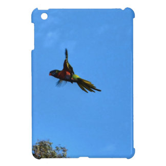RAINBOW LORIKEET IN FLIGHT QUEENSLAND AUSTRALIA iPad MINI CASE