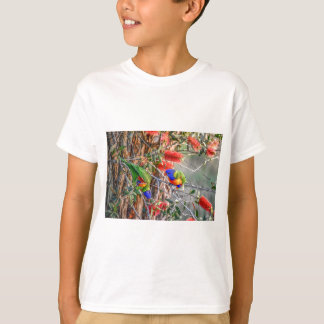RAINBOW LORIKEET RURAL QUEENSLAND AUSTRALIA T-Shirt