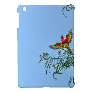RAINBOW LORIKKET AUSTRALIA ART EFFECTS iPad MINI COVER