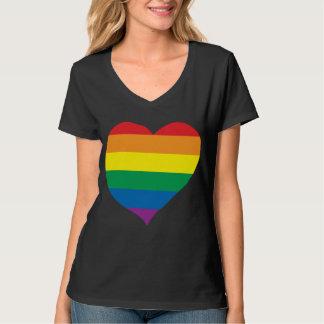Rainbow Love Heart, Gay Pride, Love Wins T-Shirt