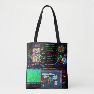 Rainbow Love Tote Bag