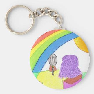 Rainbow Lovers Key Chains