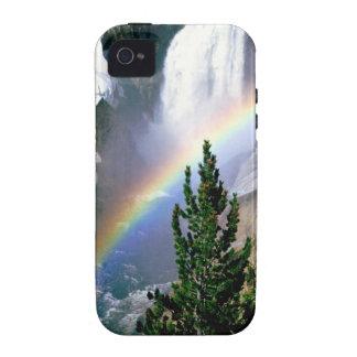 Rainbow Lower Falls Yellowstone iPhone 4 Case