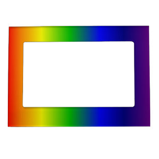 Rainbow Magnetic Picture Frame
