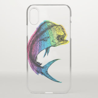 Rainbow Mahi Mahi iPhone X Case