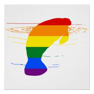 Rainbow Manatee