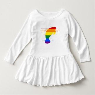 Rainbow Manatee Dress