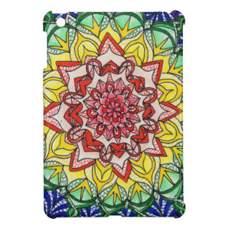 Rainbow Mandala Cover For The iPad Mini