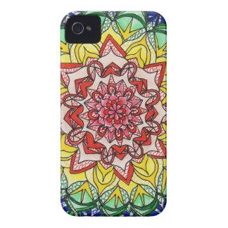 Rainbow Mandala iPhone 4 Case