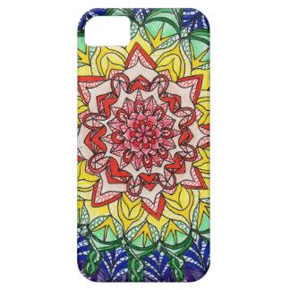 Rainbow Mandala iPhone 5 Case