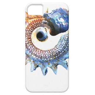 Rainbow Mandala Seashell Golden Spiral Yoga Tee iPhone 5 Case