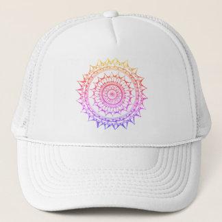 Rainbow Mandala Snapback Trucker Hat
