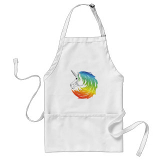 Rainbow Mane Unicorn Standard Apron