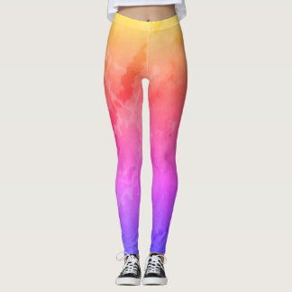 Rainbow Marble Leggings