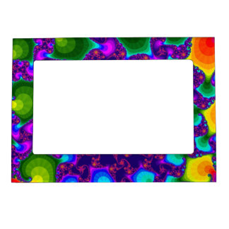 Rainbow Marigold Picture Frame
