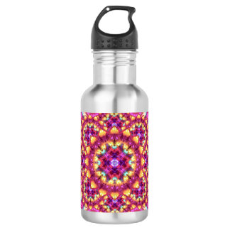 Rainbow Matrix Mandala 532 Ml Water Bottle