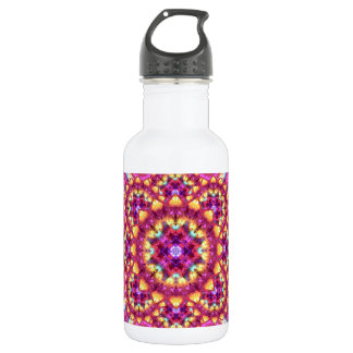 Rainbow Matrix Mandala 532 Ml Water Bottle