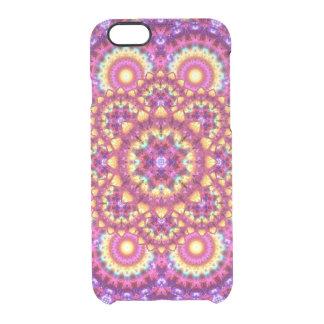 Rainbow Matrix Mandala Clear iPhone 6/6S Case