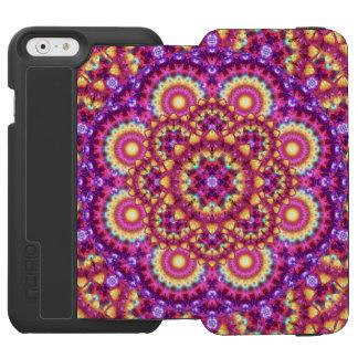 Rainbow Matrix Mandala Incipio Watson™ iPhone 6 Wallet Case