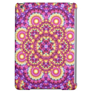 Rainbow Matrix Mandala iPad Air Case