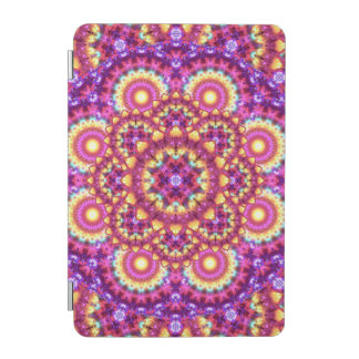 Rainbow Matrix Mandala iPad Mini Cover