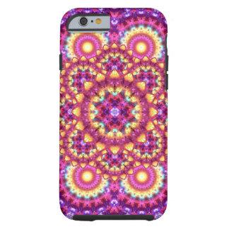 Rainbow Matrix Mandala Tough iPhone 6 Case